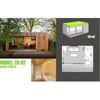 Buy cheap Soundproof Prefabricated Garden Studio / Prefab Garden Shed For Garden Music Studio from wholesalers