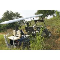Buy cheap Electric Utility 6 Passenger Golf Cart Sand Tyre Multifunctional For Tourist Resort product