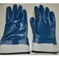 Buy cheap industrial  nitrile coated  gloves product