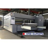Buy cheap Normal Speed Flexo Printer Slotter Die Cutter Lead Edge Feeder Type 15kw Power from wholesalers