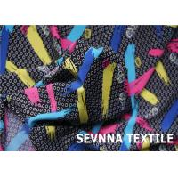 Buy cheap High Color Nylon Lycra Swimwear Fabric Wicking Moisturing For Halter Tops from wholesalers