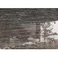 Buy cheap Versace Grey Gray Gloss Marble Floor Tiles Environmentally Friendly from wholesalers