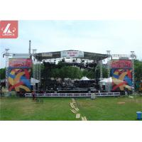 Buy cheap Music Concert Aluminium Stage Roof Truss For Indoor Outdoor Event from wholesalers