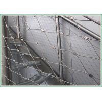 Buy cheap Hand Woven Stainless Steel Safety Net Corrosion Resistant With 1.2mm-3.2mm Wire Diameter from wholesalers