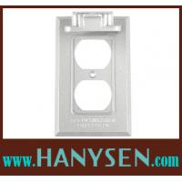 "Buy cheap China factory-1-gang waterproof junction box covers with 4-9/16"" H X 4-9/16""W Die cast zinc from wholesalers"