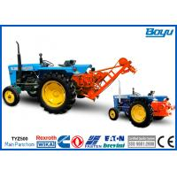 Buy cheap 60kN Transmission Line Stringing Equipment Tractor Puller with 16mm Steel Wire Rope from wholesalers