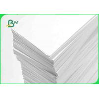 Buy cheap High Smooth Uncoated White Bond Paper 80gsm Woodfree Offset Paper For Text Books from wholesalers