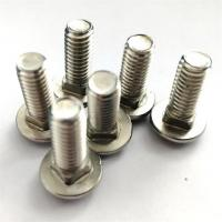 Buy cheap Dacromet Cup Head Square Neck Bolt , Stainless Steel Mushroom Head Bolts from wholesalers