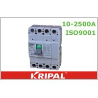 Buy cheap 350A Small Molded Case Circuit Breaker 4 Pole MCCB with Motor Distribution from wholesalers