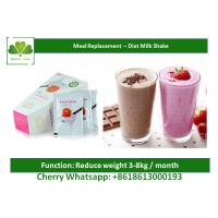 Buy cheap Reduce Weight Natural Meal Replacement Shakes For Slimming Body / Detoxing from wholesalers