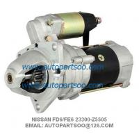 Buy cheap NISSAN FE6 FD6 STARTER MOTOR 23300-Z5505 23300-Z5002 23300-Z5511 SAWAFUJI 24V 11T from wholesalers