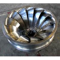 Buy cheap Stainless Steel Francis Turbine Runner with Francis Hydro turbine / Water Turbine for Hydropower Station from wholesalers