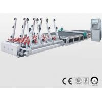 Buy cheap Double Glazing Cnc Glass Cutting Machine with CE Certificated , SMC Valve from wholesalers