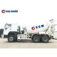 Buy cheap Construction Concrete Mixer Truck 8m3 / 9m3 / 10m3 Agitating Capacity Mobile from wholesalers