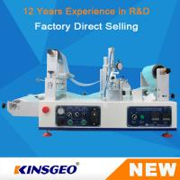 Buy cheap 1200×620×550mm Size Lab Continuous Hot Melt Coater , Hot Melt Coating Machine Digital Control from wholesalers
