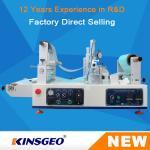 Buy cheap KJ-6018 Lab Continuous Hot Melt Coater , Hot Melt Coating Machine Digital Control from wholesalers