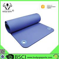 Buy cheap Good Quality Exercise Mat Thick NBR Yoga Mat with Ring from wholesalers