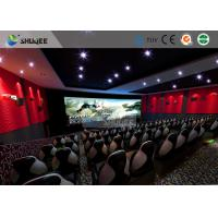 Buy cheap Special Effect Large Curved Screen 5D Movie Theater Dynamic Chair from wholesalers