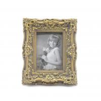 Buy cheap Champagne Baroque Antique Style Photo Frames Shabby Chic Style 2.5x3.5 Oval from wholesalers