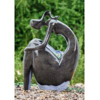 Customized Shape Outdoor Water Fountain Statues Garden Fountains For Home