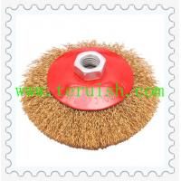 Buy cheap Crimped Wire Screw & Plate  Wheel Brushes TRC05 from wholesalers