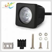 Buy cheap Hot sale 9~30V DC 2inch square 10W Cree flood spot motorcycle light IP68 LED driving light for motorbike from wholesalers