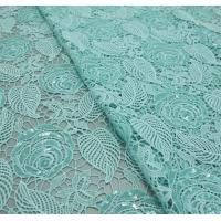 Buy cheap Chemical lace with Red/Pink /Orange Color  + Embroidery Sequin Lace Fabric from wholesalers