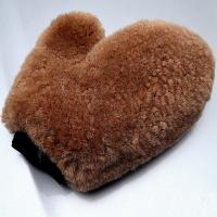Buy cheap Sheepskin Plush Car Wash Mitt Glove Polishing For Waxing from wholesalers