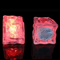 Buy cheap Multi-Color Button On/Off LED Ice Cube  For KTV, Leisure Bar, Birthday , Wedding Party ,Champagne Tower Decoration from wholesalers