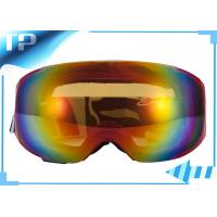 Buy cheap Skating Outstanding Tinted Low Light Ski Goggles Photochromatic TPU Frame from wholesalers
