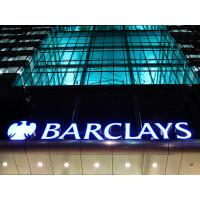 Buy cheap 3D LED Front-lit Acrylic Letter Signboard For Barclays Bank Outlets from wholesalers
