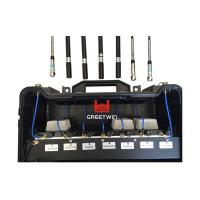 Buy cheap 6 Bands Gps Jammer Blocker , Cell Signal Blocker Jammer Bulit In Battery from wholesalers