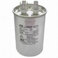 Buy cheap AC Motor Running Capacitor, Zn/Al Metallized Polypropylene Film from wholesalers