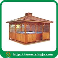 Buy cheap Outdoor Garden Wooden Gazebo(WG-05) from wholesalers