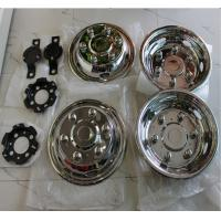 Buy cheap 16 Inch Stainless Steel Wheel Covers , Durable Universal Bus Wheel Simulators from wholesalers