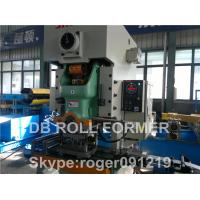 Buy cheap Fire Damper Purlin Roll Forming Machine production line WITH automatic from wholesalers