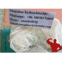 Buy cheap 99% Medical Local Anesthetic Drugs Tetracaine Hcl Pain Killer Tetracaine Hydrochloride 136-47-0 from wholesalers