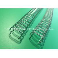 Buy cheap Silver White Atlas Double Loop Wiree Binding Combs 11.1mm 23×100 Pcs / Box from wholesalers