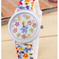 Buy cheap Printing on the watch Printed silicone watch Printed gift watch The pattern watches Fancy band watch with dial from wholesalers