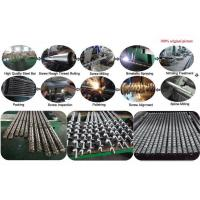 Buy cheap Vented Plastic Extruder Single Screw And Barrel With Nitrided Treatment from wholesalers