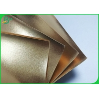 Buy cheap 150cm * 110 Yards 0.55mm Golden Water Proof Paper For Handbags Or Storage Bags from wholesalers