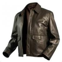 Buy cheap rain proof  S M L XL XLL 4 way stretch fabric Thick Leather zipping Jacket for male  product