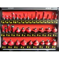 Buy cheap TC-035B 12mm Shank 35PCS Red Colour TCT Router Bit Set In Aluminum Carrying Case from wholesalers