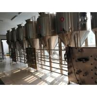 Buy cheap 2000L Beer Fermentation Equipment Commercial Beer Fermenter Touch Screen Control from wholesalers