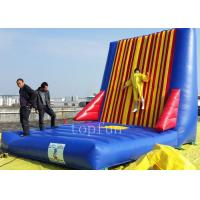 Buy cheap PVC Velcro Inflatable Sticky Wall , Interesting Inflatable Climbing Wall from wholesalers