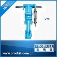 Buy cheap Y26 Pneumatic Hand Hold Rock Drill Machine for Drilling from wholesalers