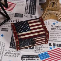 Buy cheap American Flag Small Treasure Chest Decorative Wood Jewelry Keepsake Boxes for Kids Girls Boys Gifts from wholesalers