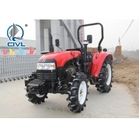 Buy cheap 4x4 Gear Drive 3 Point Hitch Standard Four Wheel Drive Tractor / 80hp 4wd Farm Tractor from wholesalers