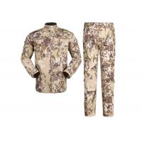 Buy cheap 100% Cotton Highlander Military Combat Uniform , Air Force ACU Military Uniform from wholesalers