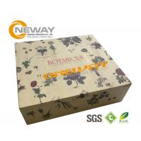 Buy cheap Silk Screen Printing Gift Packaging Box ,  Brown Kraft Magnetic Gift Boxes from wholesalers